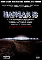 Hangar 18 - Spanish DVD cover (xs thumbnail)