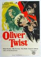 Oliver Twist - Swedish Movie Poster (xs thumbnail)