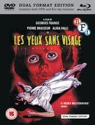 Les yeux sans visage - British Movie Cover (xs thumbnail)