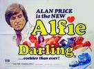 Alfie Darling - British Movie Poster (xs thumbnail)