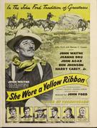 She Wore a Yellow Ribbon - Movie Poster (xs thumbnail)