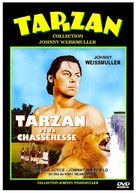 Tarzan and the Huntress - French DVD movie cover (xs thumbnail)