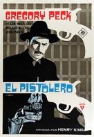 The Gunfighter - Spanish Movie Poster (xs thumbnail)