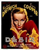 Desire - Belgian Movie Poster (xs thumbnail)