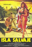 Savage Island - Spanish Movie Poster (xs thumbnail)