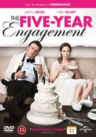 The Five-Year Engagement - Danish DVD cover (xs thumbnail)
