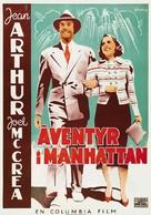 Adventure in Manhattan - Swedish Movie Poster (xs thumbnail)