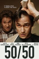 50/50 - DVD movie cover (xs thumbnail)