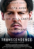 Transcendence - Argentinian Movie Poster (xs thumbnail)