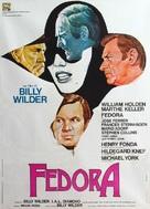 Fedora - Italian Movie Poster (xs thumbnail)