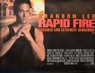 Rapid Fire - British Movie Poster (xs thumbnail)
