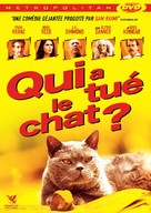 Murder of a Cat - French DVD cover (xs thumbnail)