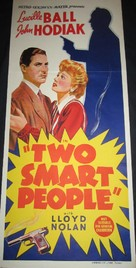 Two Smart People - Australian Movie Poster (xs thumbnail)