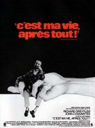 Whose Life Is It Anyway? - French Movie Poster (xs thumbnail)