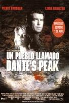 Dante's Peak - Spanish Movie Poster (xs thumbnail)
