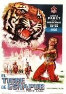 Der Tiger von Eschnapur - Spanish Movie Poster (xs thumbnail)