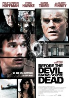 Before the Devil Knows You're Dead - Dutch Movie Poster (xs thumbnail)