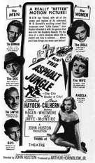 The Asphalt Jungle - poster (xs thumbnail)