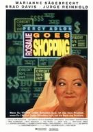 Rosalie Goes Shopping - German Movie Poster (xs thumbnail)