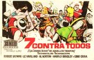 Sette contro tutti - Spanish Movie Poster (xs thumbnail)