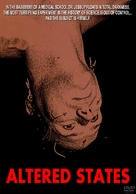Altered States - DVD movie cover (xs thumbnail)