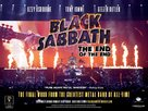 Black Sabbath the End of the End - British Movie Poster (xs thumbnail)