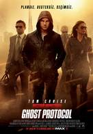 Mission: Impossible - Ghost Protocol - Turkish Movie Poster (xs thumbnail)