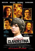 Infancia clandestina - Italian Movie Poster (xs thumbnail)