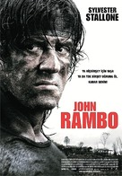 Rambo - Turkish Movie Poster (xs thumbnail)