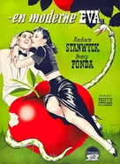 The Lady Eve - Danish Movie Poster (xs thumbnail)