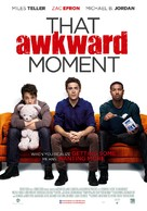 That Awkward Moment - Dutch Movie Poster (xs thumbnail)