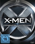 X-Men: First Class - German Blu-Ray cover (xs thumbnail)