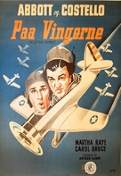 Keep 'Em Flying - Danish Movie Poster (xs thumbnail)