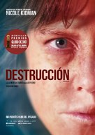 Destroyer - Argentinian Movie Poster (xs thumbnail)