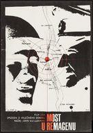 The Bridge at Remagen - Czech Movie Poster (xs thumbnail)
