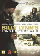 Billy Lynn's Long Halftime Walk - Danish Movie Cover (xs thumbnail)