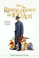 Christopher Robin - Italian Movie Poster (xs thumbnail)