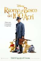 Christopher Robin - Italian Movie Poster (xs thumbnail)