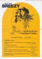 Breezy - Swedish Movie Poster (xs thumbnail)