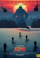 Kong: Skull Island - Hungarian Movie Poster (xs thumbnail)