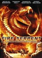 Fire Serpent - French DVD cover (xs thumbnail)