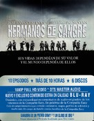 """Band of Brothers"" - Spanish DVD movie cover (xs thumbnail)"