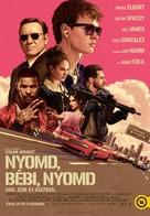 Baby Driver - Hungarian Movie Poster (xs thumbnail)