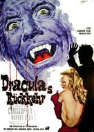 Dracula Has Risen from the Grave - German Movie Poster (xs thumbnail)