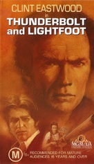 Thunderbolt And Lightfoot - Australian VHS movie cover (xs thumbnail)