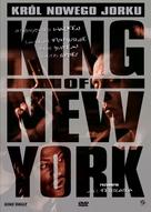 King of New York - Polish DVD movie cover (xs thumbnail)