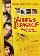 L'auberge espagnole - German Movie Poster (xs thumbnail)