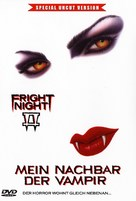 Fright Night Part 2 - German DVD movie cover (xs thumbnail)