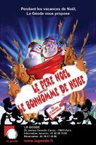 Santa vs. the Snowman 3D - French Movie Poster (xs thumbnail)