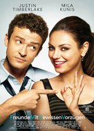 Friends with Benefits - German Movie Poster (xs thumbnail)